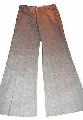 Pants Chaiken Ladies Size 0 Flat Front Wool Dress Pants Light Brown Special Summer Sale Clothing, Shoes & Accessories