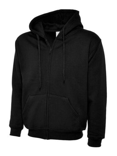504 Ladies Full Zip Sweatshirt Jacket Size 8 to 24 COMFORT LOOSE FIT HOODIES