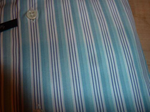 Ike Stripe Sz 15 Nuevo Mens 120s Bc3 Cotton 190 Shirt 5 Behar White Ply Two 35 34 Bwx55qZpCn