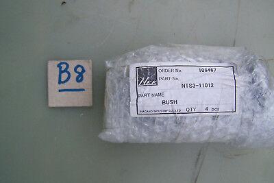 SchnäPpchenverkauf Zum Jahresende Stahlbuchse Mit Schmiernut Nts3-11012 4 Stück Nagano Industry