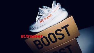 sports shoes 28845 be802 Das Bild wird geladen Adidas-Yeezy-Boost-350-V2-Blue-Tint-EU42-