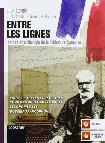 Entre les lignes. Histoire et anthologie de la littérature française -Blocco #42
