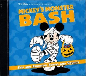 Details about MICKEY'S MONSTER BASH: DISNEY KIDS SPOOKY PARTY SONGS & SCARY  SOUNDS CD! OOP!