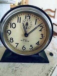Vintage-Antique-Westclox-Black-Big-Ben-wind-up-alarm-clock