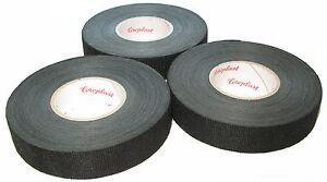 3x-Coroplast-Gewebeband-mit-Vlies-Typ-8551-19mm-x-25m-Adhesive-Tape-MwSt-neu
