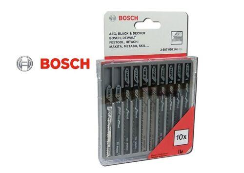 Bosch 10tlg Stichsägeblatt Set für Holz Neu und OVP!!!