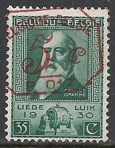 Belgium Stamps 1930 Obp 299 And 5c Overprint In Red Ebay