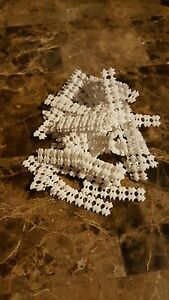 Lot of 100 Black Non Slip Grip Liners for Alligator clip bow Hair Clips barrette