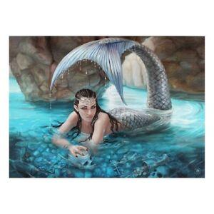 Anne-Stokes-Leinwand-Bild-Fee-Meerjungfrau-Hidden-Depths