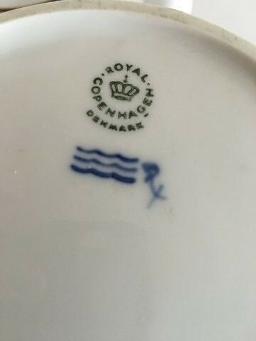Andet, Royal Copenhagen Domino Kaffekande med Låg...,