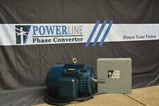 40hp Rotary Phase Converter Cnc Balanced