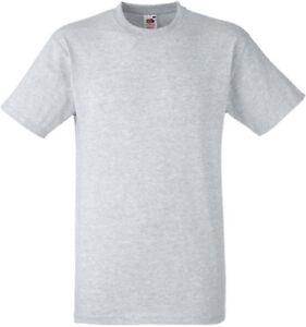 Lot de 5  tee-shirt HEAVY-T Fruit Of The Loom navy 185gr SC61212
