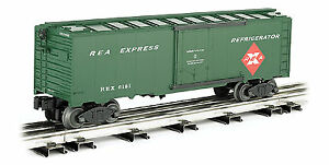 Williams by Bachmann O Scale 40' Refrigerator Express - Railway Express Agency