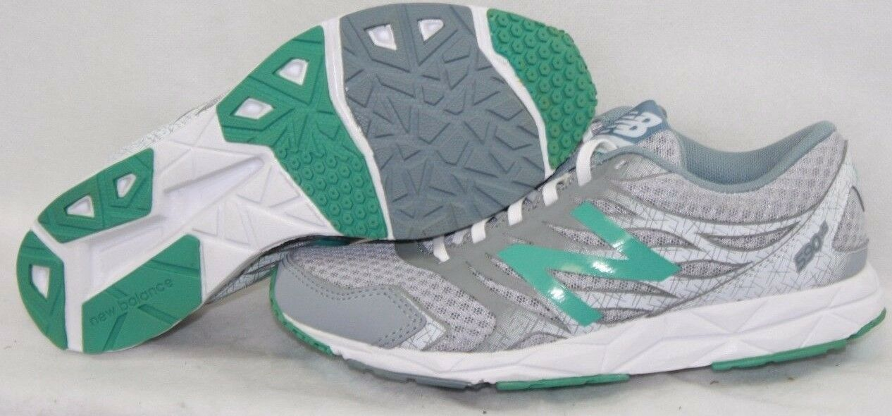 NEW Womens NEW BALANCE 590 LS5 Grey Mint Green White Running Sneakers shoes