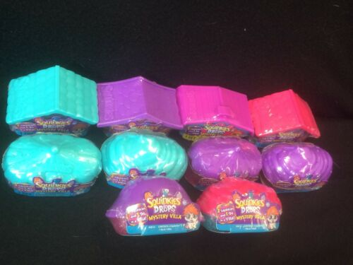 SQUINKIES DO DROPS MYSTERY VILLA LOT OF 10 BRAND NEW SEALED!