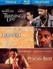 John Q Pelican Brief Training Day 0883929250929 Blu Ray Region a