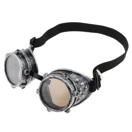 Novelty Punk Steampunk Cyber Goggles Glasses Victorian Cosplay Goth Costume