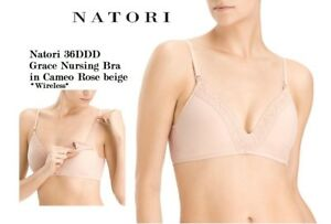 54be4bbee49 Image is loading Natori-size-36DDD-Grace-Maternity-Wire-Free-Contour-