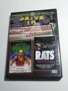 HELL OF THE LIVING DEAD/RATS, NIGHT OF TERROR USED - VERY