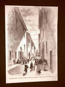 Rara-veduta-di-Genova-nel-1875-Il-Portofranco-veduta-interna
