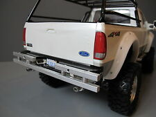 Custom Aluminum Rear Bumper Bar Protector Guard for Tamiya 1/10 Ford F350 Truck