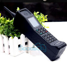New Classic Old Vintage Brick Cell Phone DUAL-SIM GSM 850/900/1800/1900MHz Black
