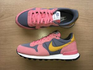 brand new d0cfc cded1 coupon for image is loading womens nike internationalist uk size 3 5 grey  a2420 7f4a8
