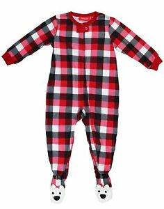Family Pajamas Macy s Baby Toddler 1-Pc Footed Pajama B17104652 ... 9cddf91fb
