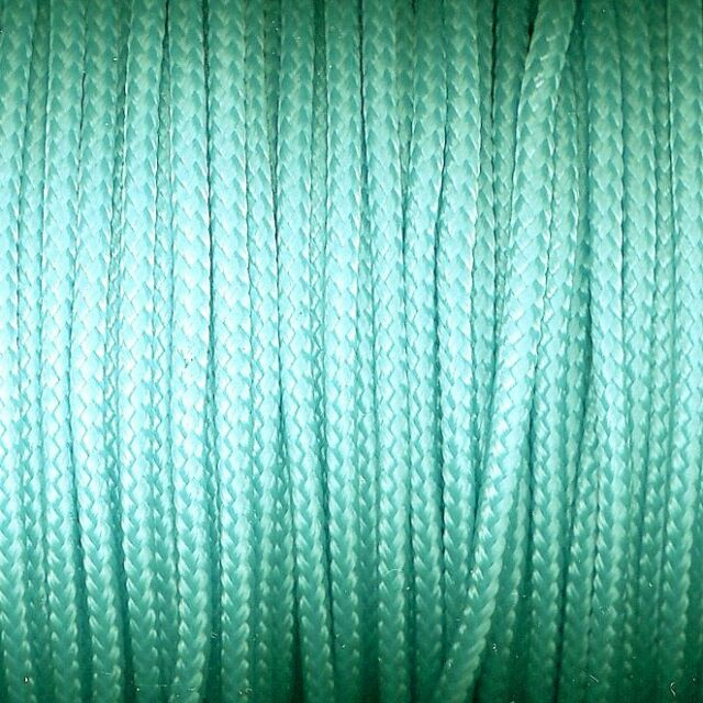 knot*knot Paracord Garn für Paracord-Technik - Ø 3 mm - mint - 4 Meter
