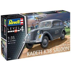 Revell Gmbh 03270 German Staff Car Kadett K38 Saloon Model Kit, 1:35 Scale