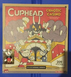 *NEW* McFarlane CUPHEAD CHAOTIC CASINO 209 Pieces Construction Kit