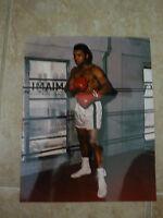 Muhammad Ali Boxing Legend Color 8x10 Photo Cassius Clay