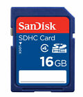 SanDisk Ultra 16gb SD Card SDHC Memory Card Class 4 16 GB (Refurbished)