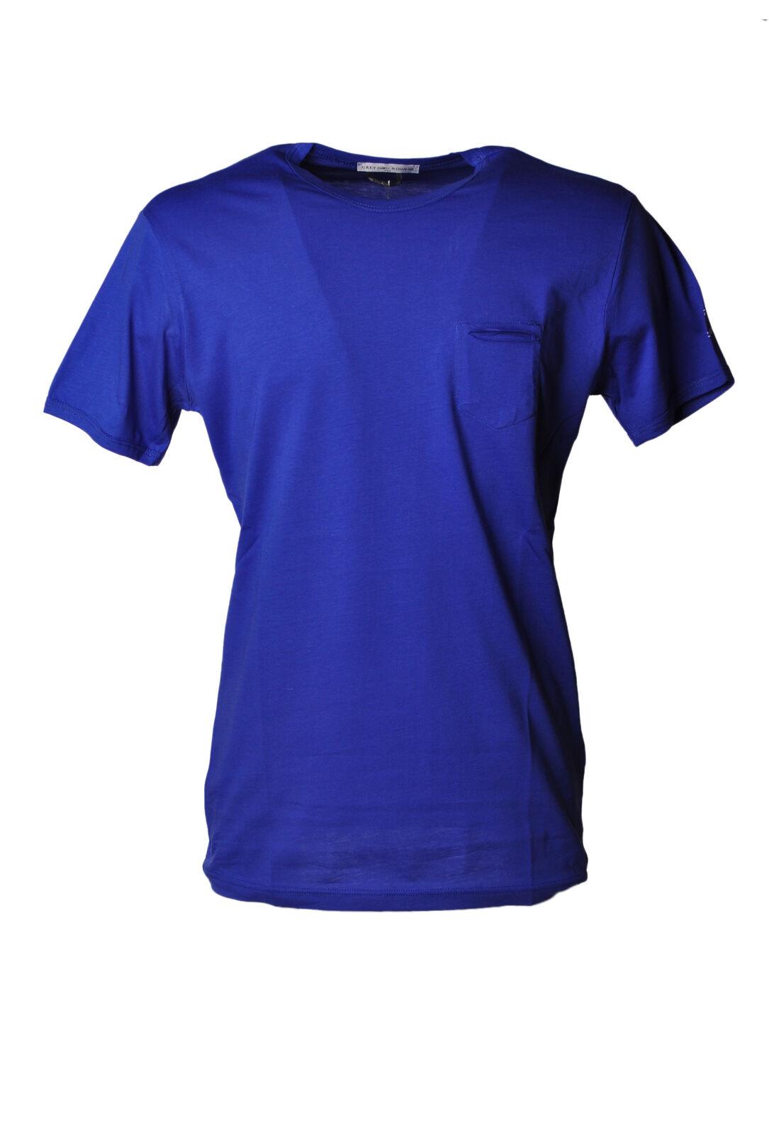Daniele Alessandrini - Topwear-T-shirts - Man - Blau - 4720205E184347