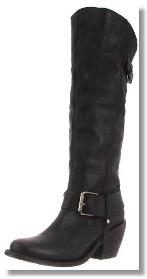 Dolce Vita Black Leather Boots Knee High New 6 7 8 10