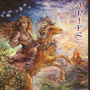 Fantasy Aries Woman Art