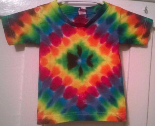 New Tie Dye 2T Toddler T-shirt Alstyle or Gildan 100/% Cotton Short Sleeve