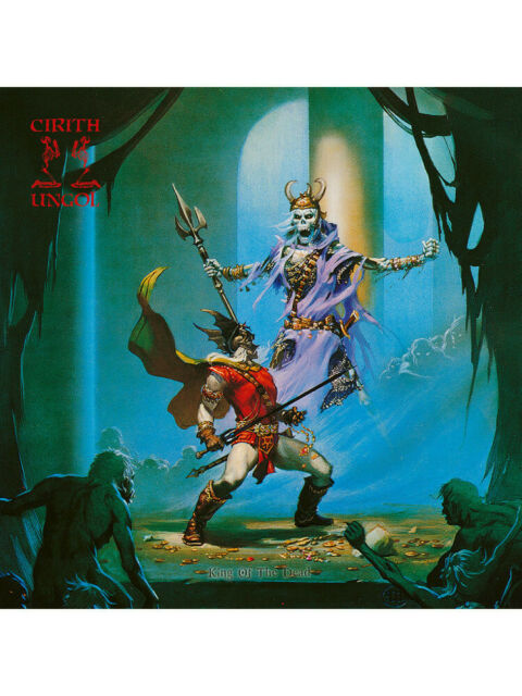 CIRITH UNGOL - King Of The Dead (Ultimate Edition) * BOOK * 0039841551303