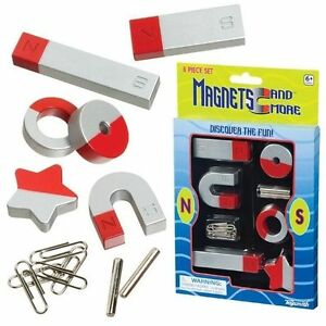 1-or-2-SETS-8-Pieces-Classic-Horseshoe-Magnet-Set-Fun-Learning-Science-Toy