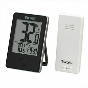Taylor Precision Products Springfield 8 Indoor//Outdoor Dial Thermometer Blue