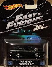 1970 Dodge Charger R/T Fast & Furious 1:64 Hot Wheels BDT95 Retro Entertainment