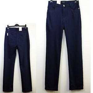 New-PER-UNA-Roma-Fit-STRAIGHT-LEG-Embellished-JEANS-Size-12-Regular-INDIGO
