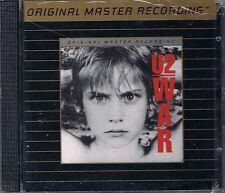 U2 War MFSL Gold CD Neu OVP Sealed UDCD 571