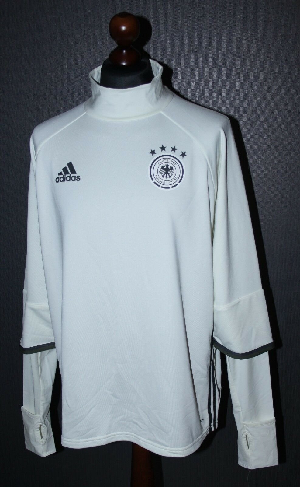 Germany football national team Adidas mens training jumper Size 2XL 2016 Adizero