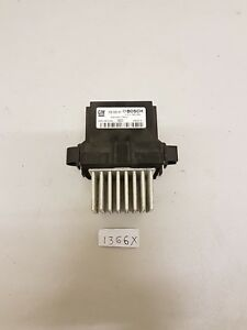 ASTRA J Mk6 Heater Blower Fan Resistor