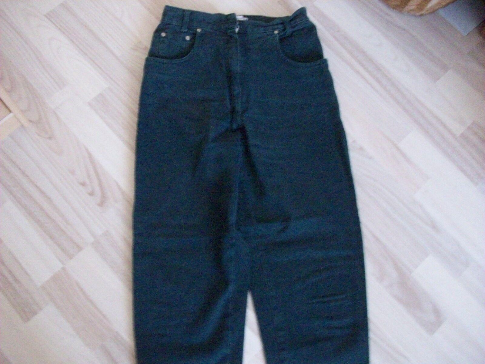 1 Damen Jeanshose / Gr. 38 petrolgrün