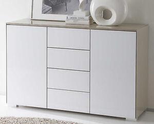 Details zu Staud Premium breite Schlafzimmer Kommoden Kommode mit  Schubladen Glas v. Farben