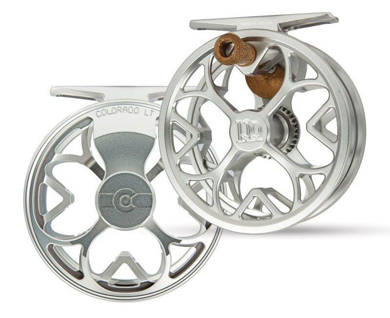 Ross Farbeado LT Fly Reel - Größe 0 3 3 3 - Farbe Platinum - NEW b40d86
