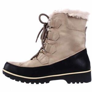JBU by Jambu Tan Fur Mendocino Mid Calf Winter Snow New Stiefel New Snow In Box ... 9563ee