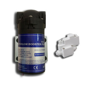 Reverse-Osmosis-booster-pump-100-GPD-W-High-Pressure-Shutoff-Switch